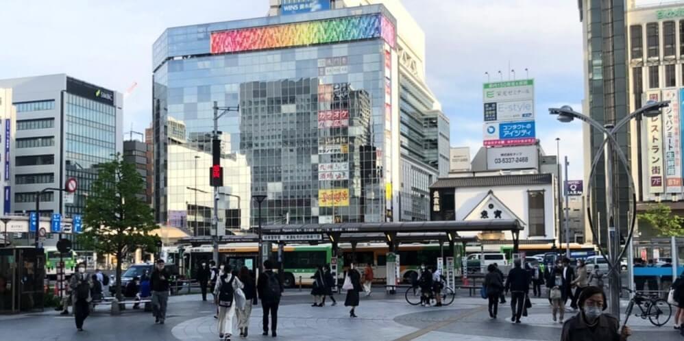 JR錦糸町駅前の広場