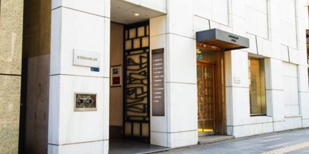 壹番館ビルディングの入口
